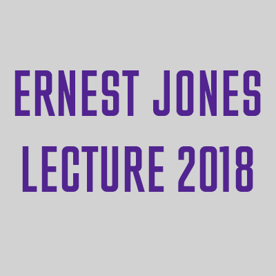 Ernest Jones Lecture 2018