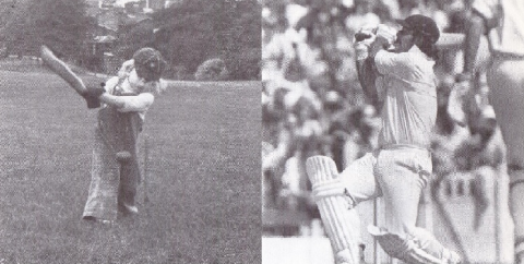Photographs of Richard Scholar and Rodney Marsh reproduced from The Return of the Ashes by Mike Brearley and Dudley Doust, published by Pelham Books, London (1978).